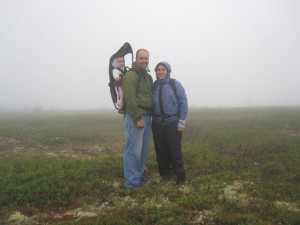 Fam on Murphy Dome 2010