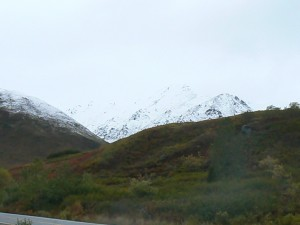 In Hatcher's Pass, snow is coming...